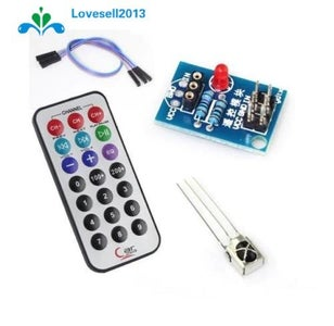 Getting Started With IR Remote and IR Receiver.