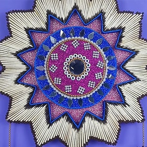 Awesome Matchstick Craft Wall Hanging!