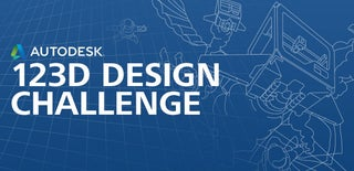 Autodesk 123D Design Challenge
