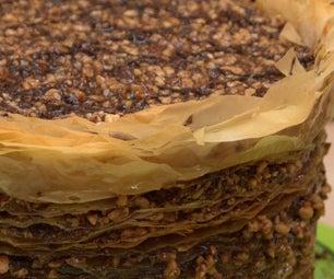 314 Layer Chocolate-Hazelnut Baklava Pi(e)