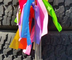 Titanium Pin Flags