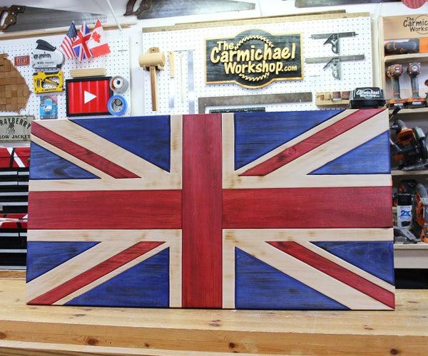 Rustic Union Jack Flag