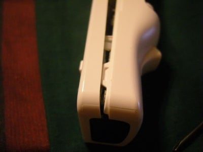 Dis-assembly of Holster, Game Boy, and Wiimote