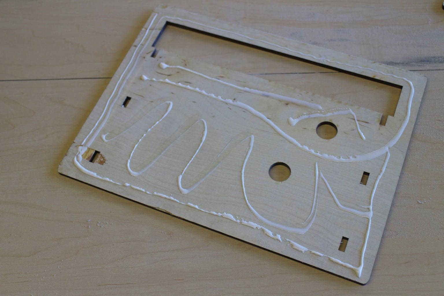 Glue the Frame
