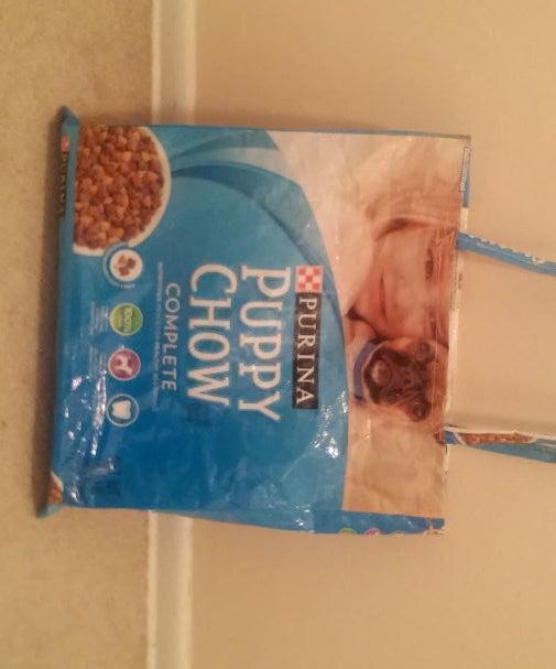 Grocery Bag From Dog Food Bag!