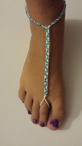 How to Make a Studded Anklet Bracelet