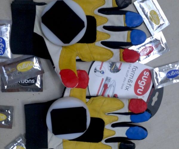 Downhill Skateboard Glove Reenforcement
