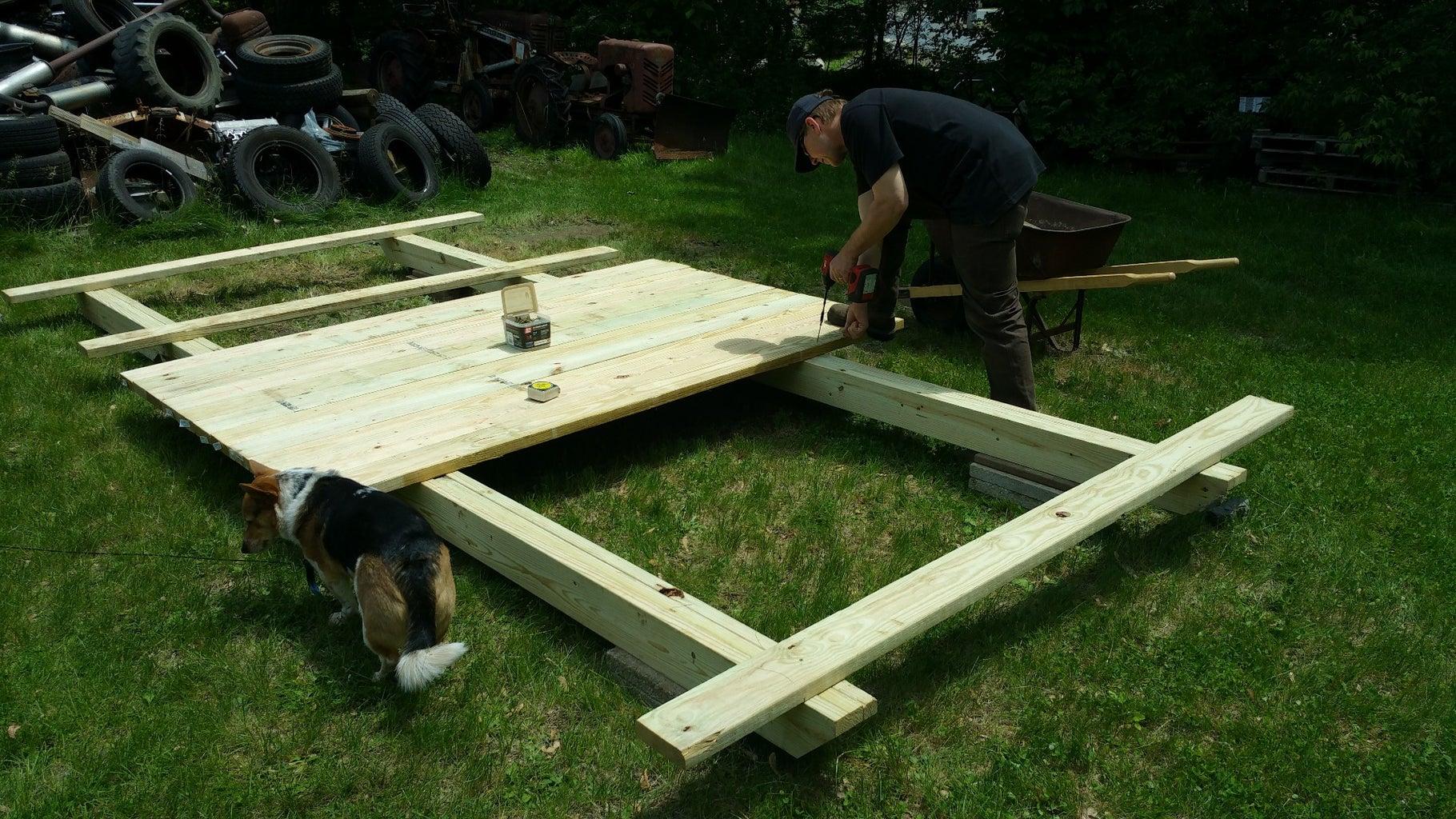 Adding the Deck