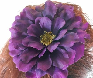 How to Make a Hair Flower