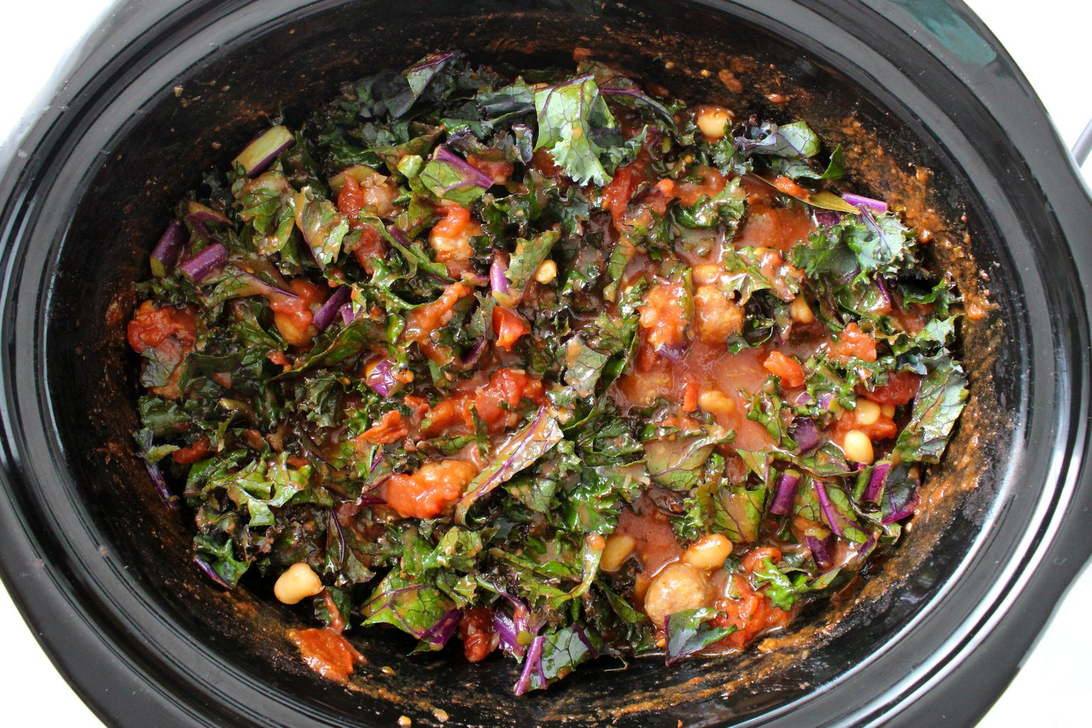 Add the Kale and Keep Cooking