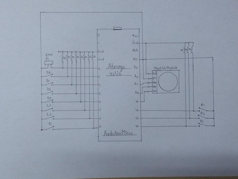 Circuit Diagram and Coding