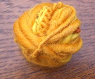 Spin Yarn With a Mayan Blade