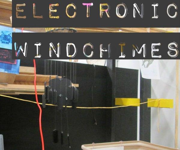 Electronic Windchimes