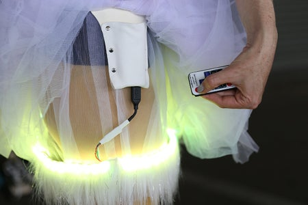 Attach the Light Strip to the Skirt