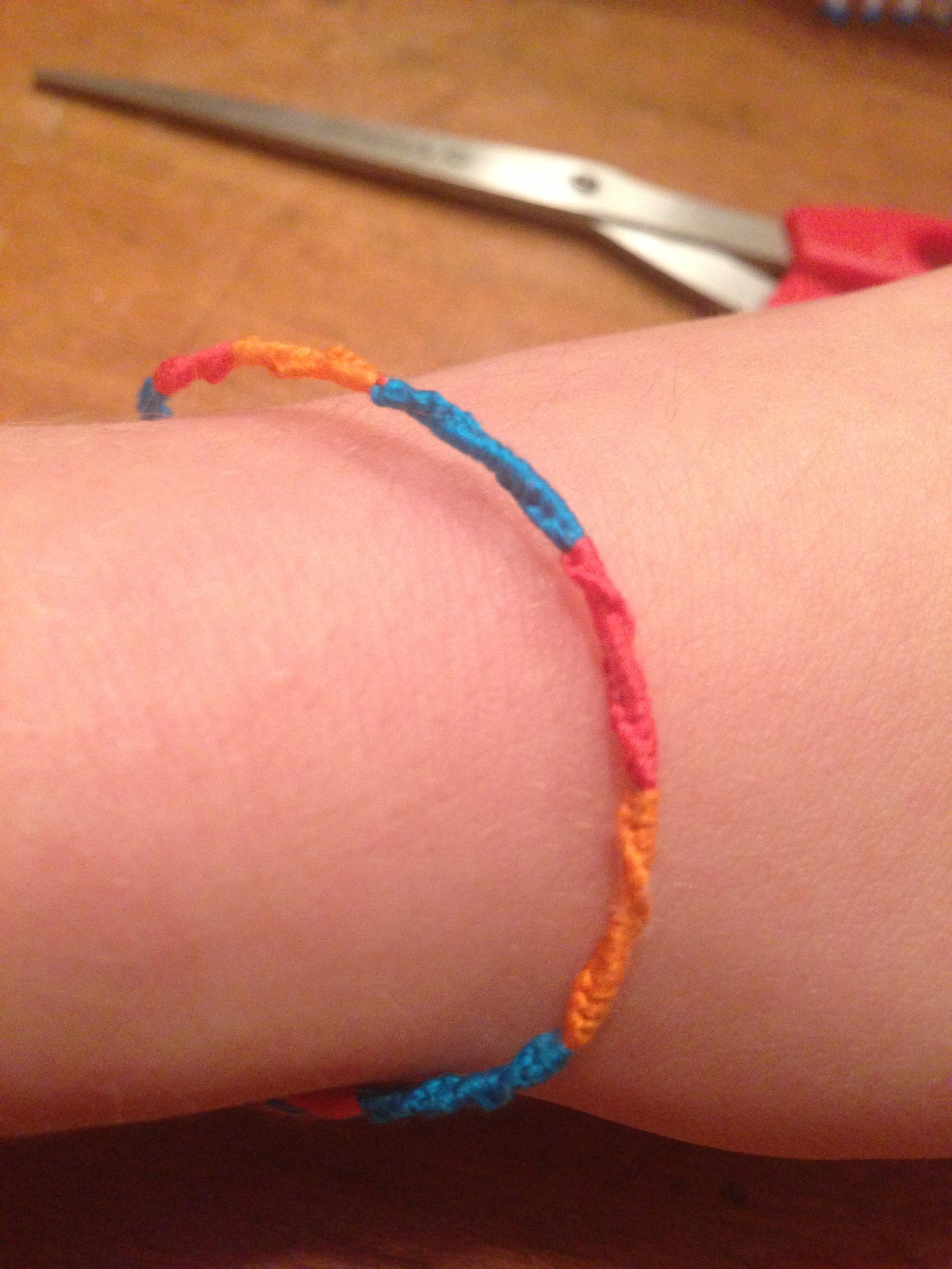 Spiral Knot Wrap Friendship Bracelet