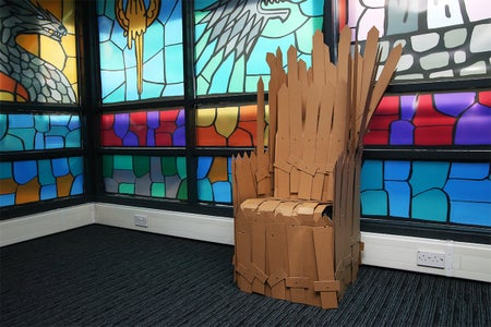 We Even Created Our Own Iron Throne: