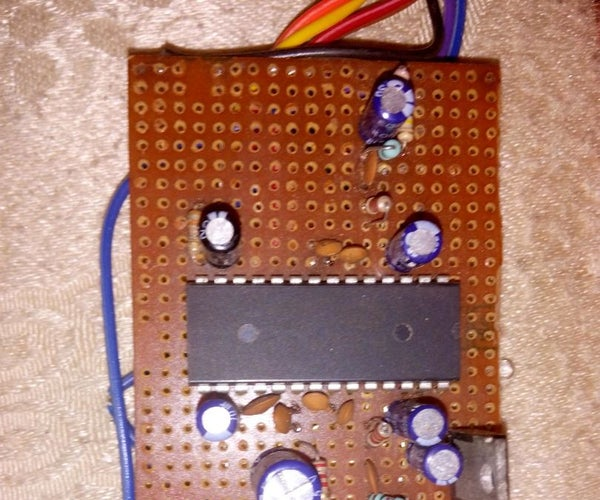 Homemade Digital Stereo to 2.1 Splitter Using Ic PT2353