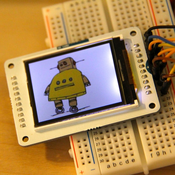 Your Image on an Arduino! - TFT LCD Screen Guide