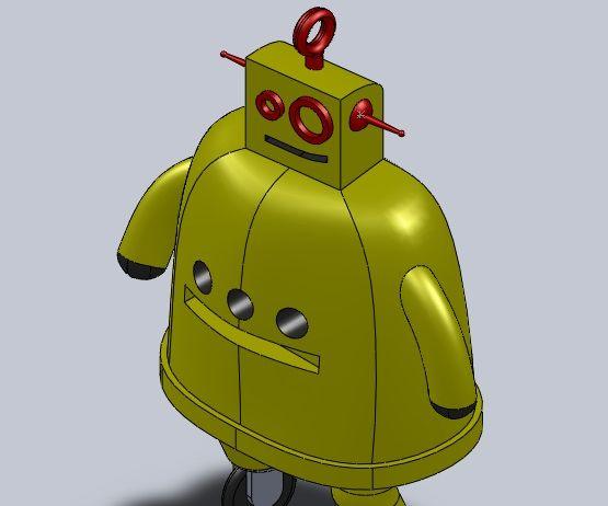 Instructables Robot Ornament