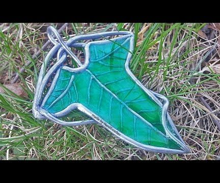 Lord of the Rings Leaf Brooch