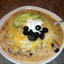 Souper Simple, Souper Delicious Slow Cooker Enchilada Soup (That really is a ONE pot meal!)