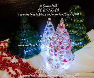 如何制作4棵独特的圣诞树