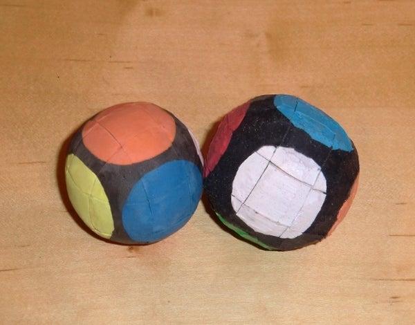Bouncy Rubik's Cube