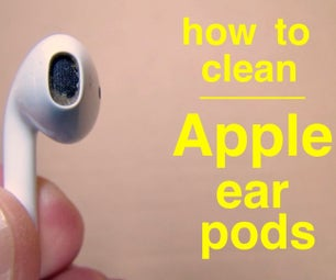 How to Clean Apple Ear Pods.