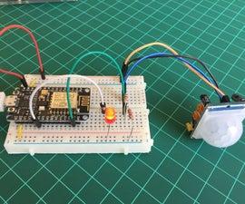 带NodeMCU和BLYNK的物联网运动探测器