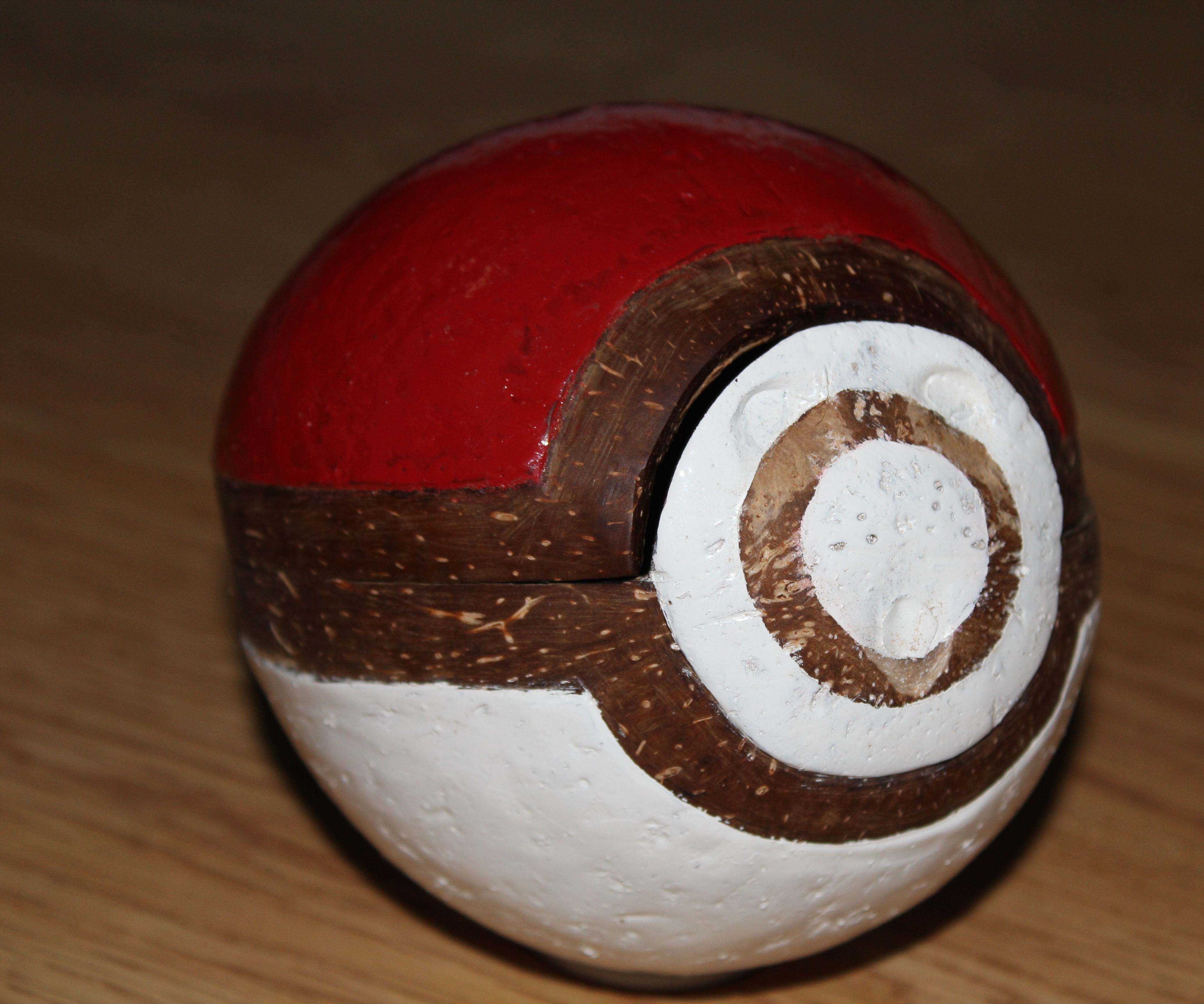 DIY Coconut Pokeball