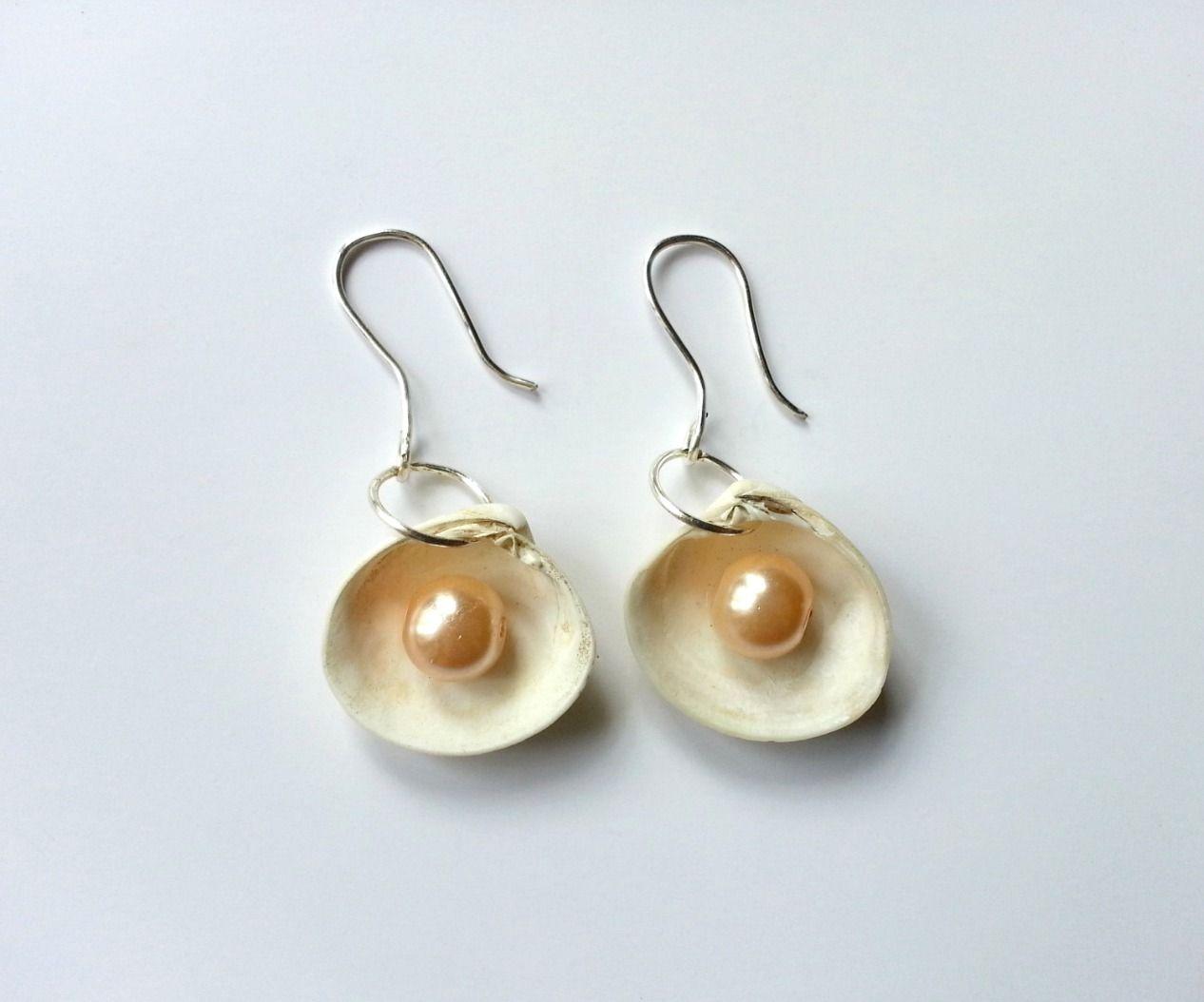 DIY Sea Shell Earrings