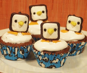 How to Make a Marshmellow Penguin Pop or Decoration