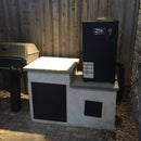 "Built-In Cold Smoker For Electric Smoker ""Mailbox Mod""-mod"