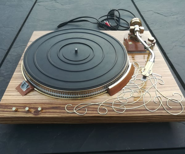 Restore an Old Record Player