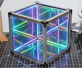Make an EASY Infinity Cube   NO 3D Printing and NO Programming