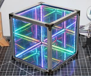 制作一个简单的无限立方体|无需3D打印和编程