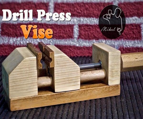 Drill Press Vise, Homemade