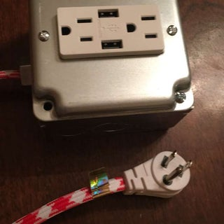 Modern Extension Cord With USB