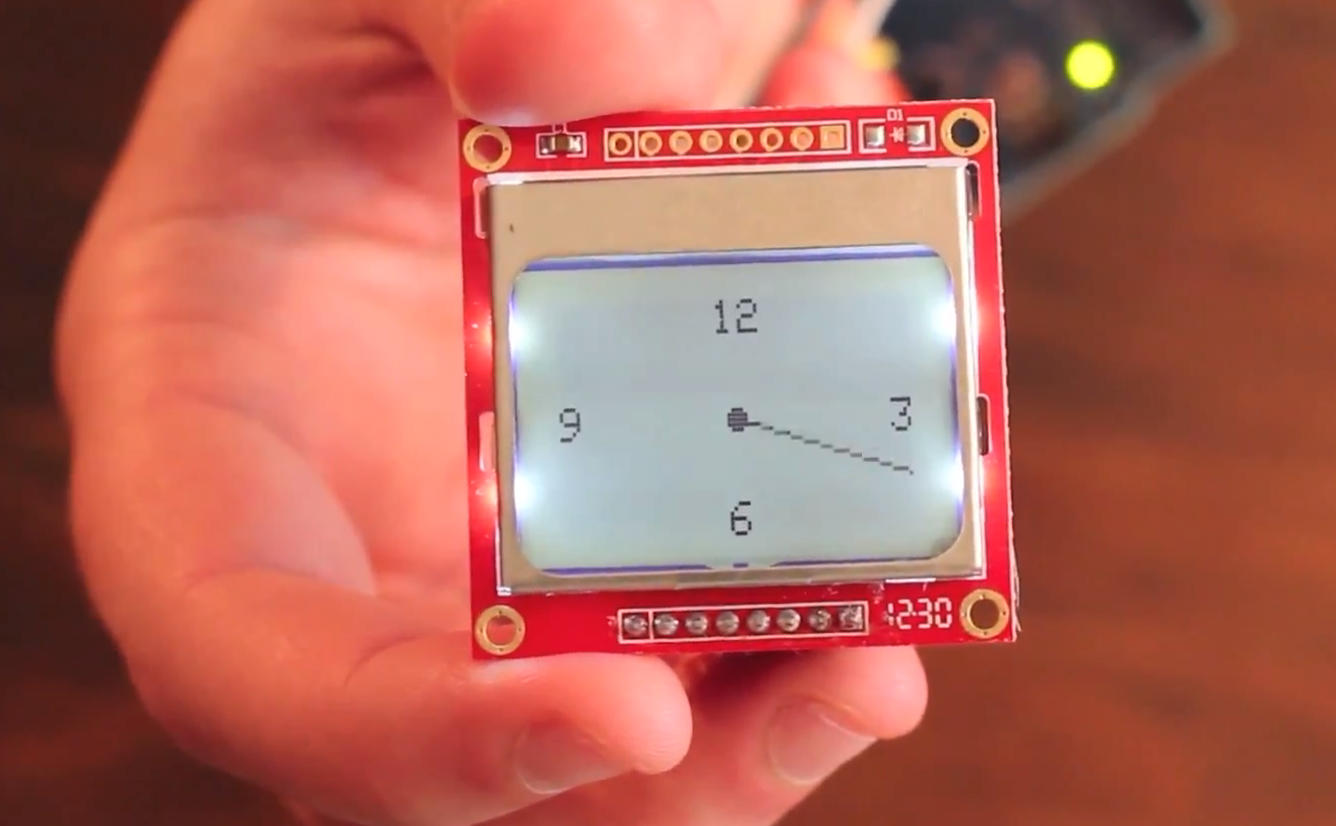 How to use a Nokia 5110 84X48 LCD display with your Arduino (It's easy and cheap!)
