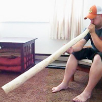 Homemade Didgeridoo