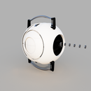 Ultimate Animatronic Portal 2 Personality Core: the Design Process