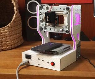 DIY Laser Engraver With RGB
