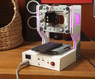 DIY Laser Engraver With RGB