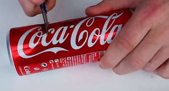 To Do Open a Lock With a Coke Can You Need!!!