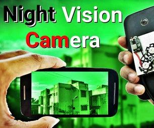 从旧智能手机制作夜视相机!