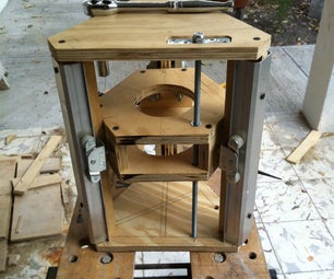 Make a Router Lift Out of Recycled Closet Door Rails.
