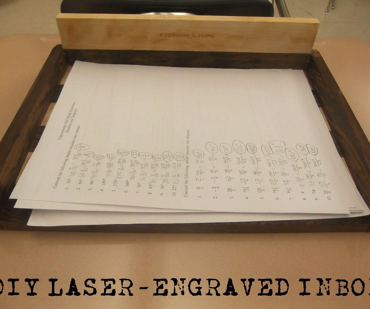 DIY Laser Engraved Inbox