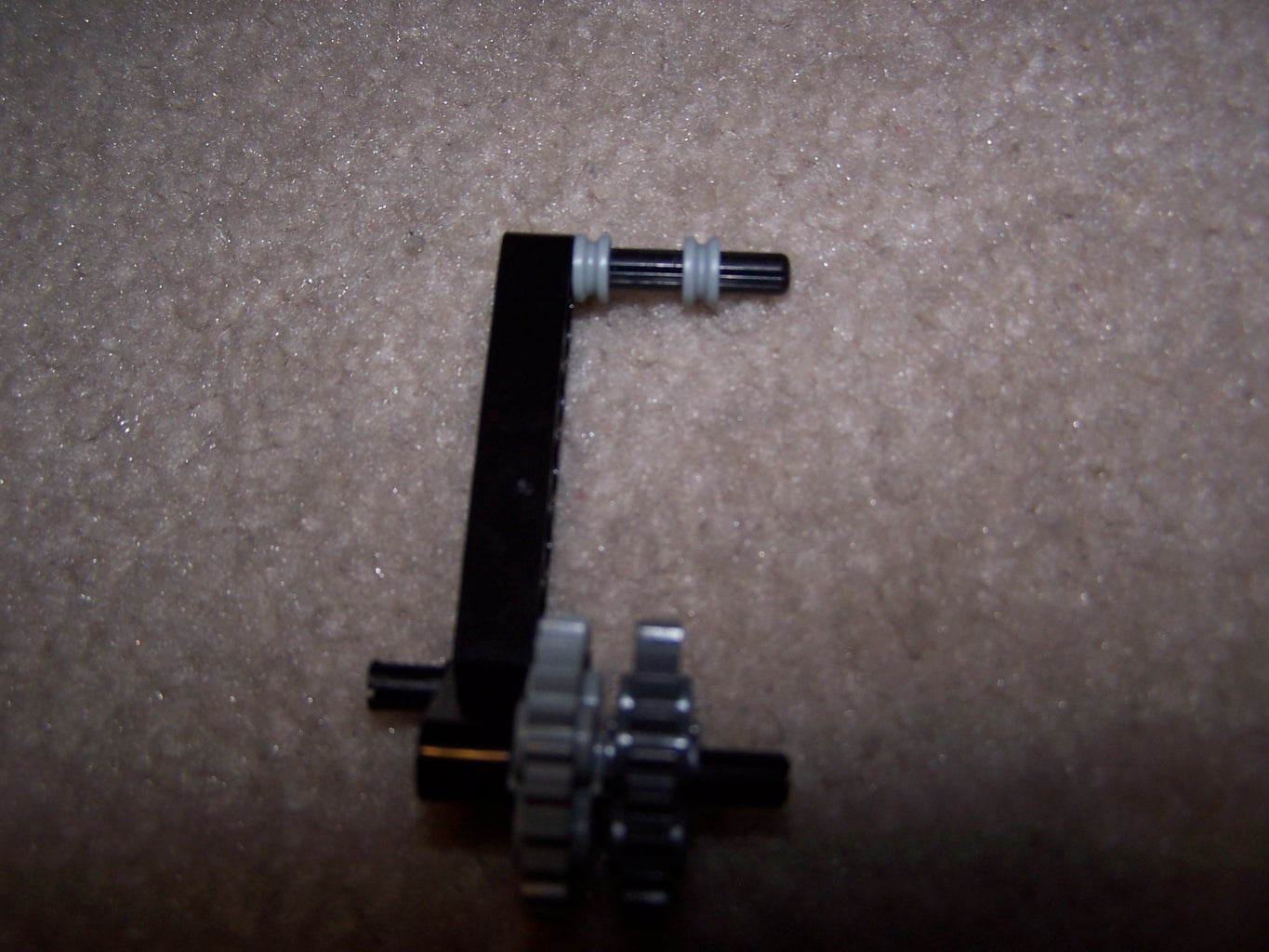 Half of the Trigger + Counterweight RB Holder