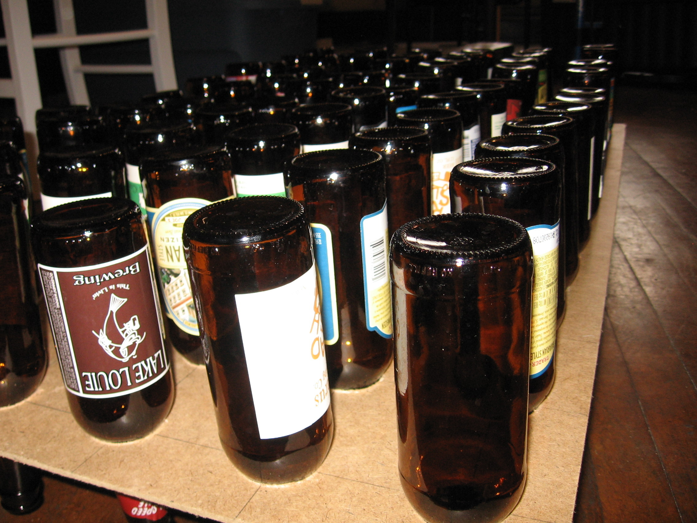 Beer Bottle Drying Rack