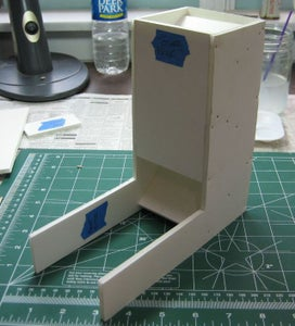 Add the Tower Back and Front